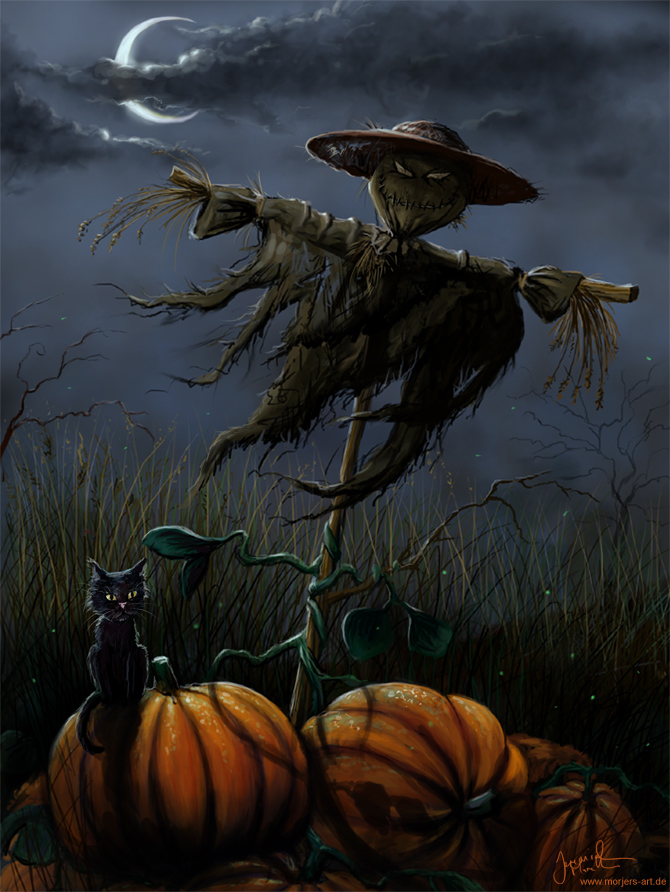Halloween Pumpkin Patch by jerry8448