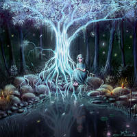 Tree Of Light by MorJer
