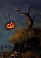 Halloween Tree by MorJer