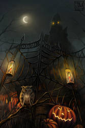 Halloween Gate by jerry8448