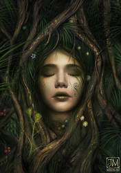 The Dryad by MorJer