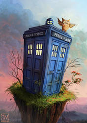 Doctor Whoot by MorJer