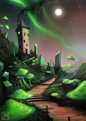 Northern Lights by jerry8448