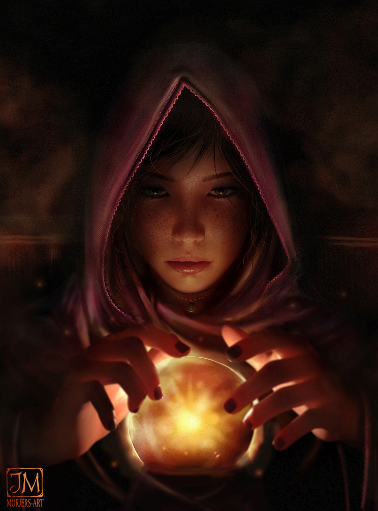The Young Fortune Teller by MorJer