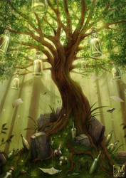 The Tree Of Forgotten Promises by jerry8448