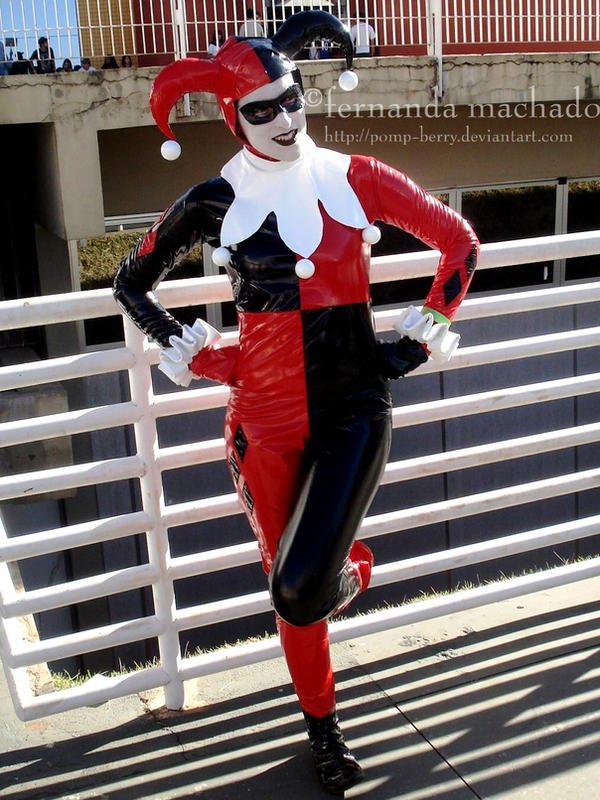 Harley Quinn by pomp-berry