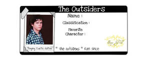 The Outsiders - ponyboy