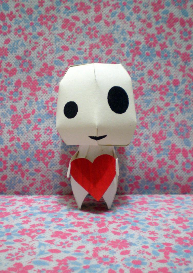 Kodama :valentine: papercraft by drawwithme15