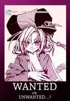 WANTED -comics work: teaser- by ekyu