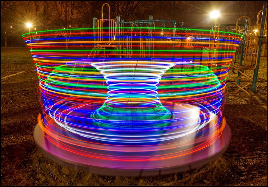 Playground Roundabout by Lymanjames