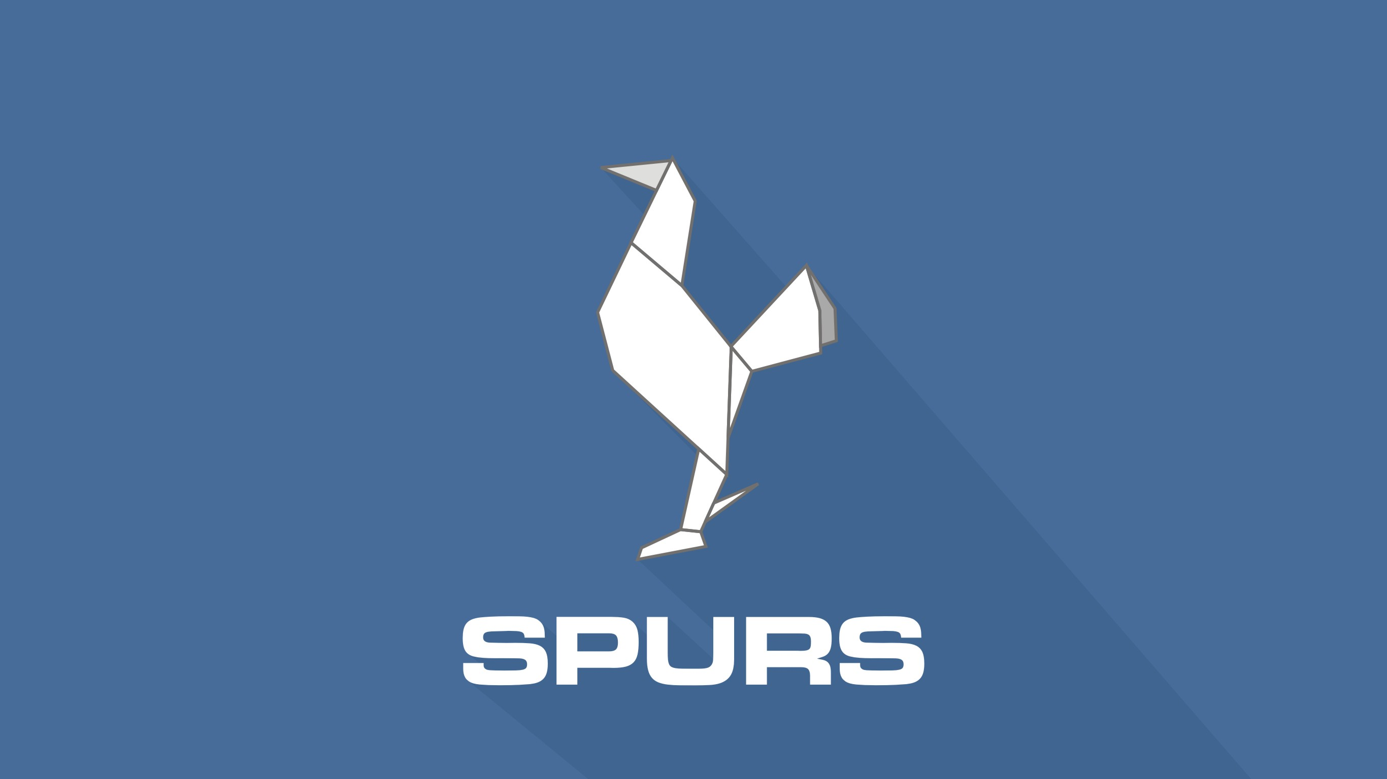 Origami Spurs Wallpaper by HamzahZein Origami Spurs Wallpaper by HamzahZein