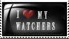 STAMP: I love my watchers by pinoleny