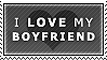 STAMP: I love my boyfriend by pinoleny