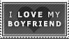 STAMP: I love my boyfriend by pinoleny