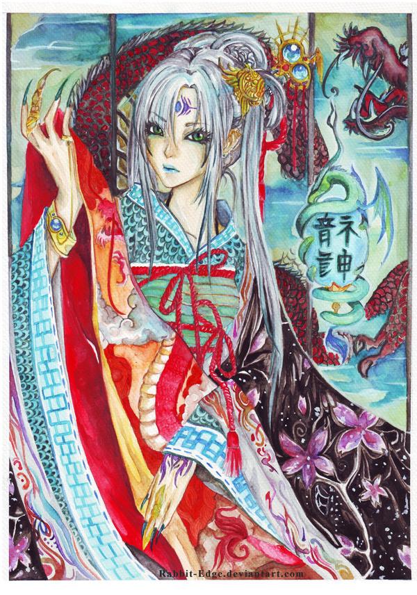 Dragon Goddess by Rabbit-Edge
