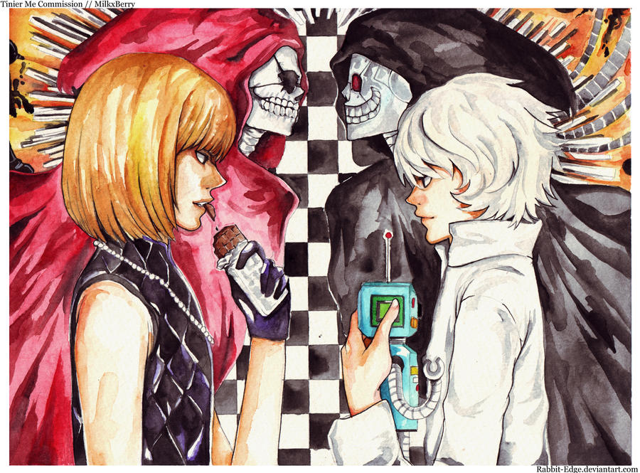 Mello and Near by Rabbit-Edge on DeviantArt