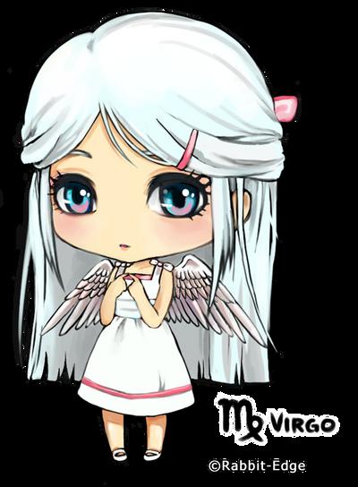 Anime Characters Virgo : Female zodiac virgo by rabbit edge on deviantart