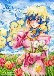 That beautiful flower named Nia. by Rabbit-Edge