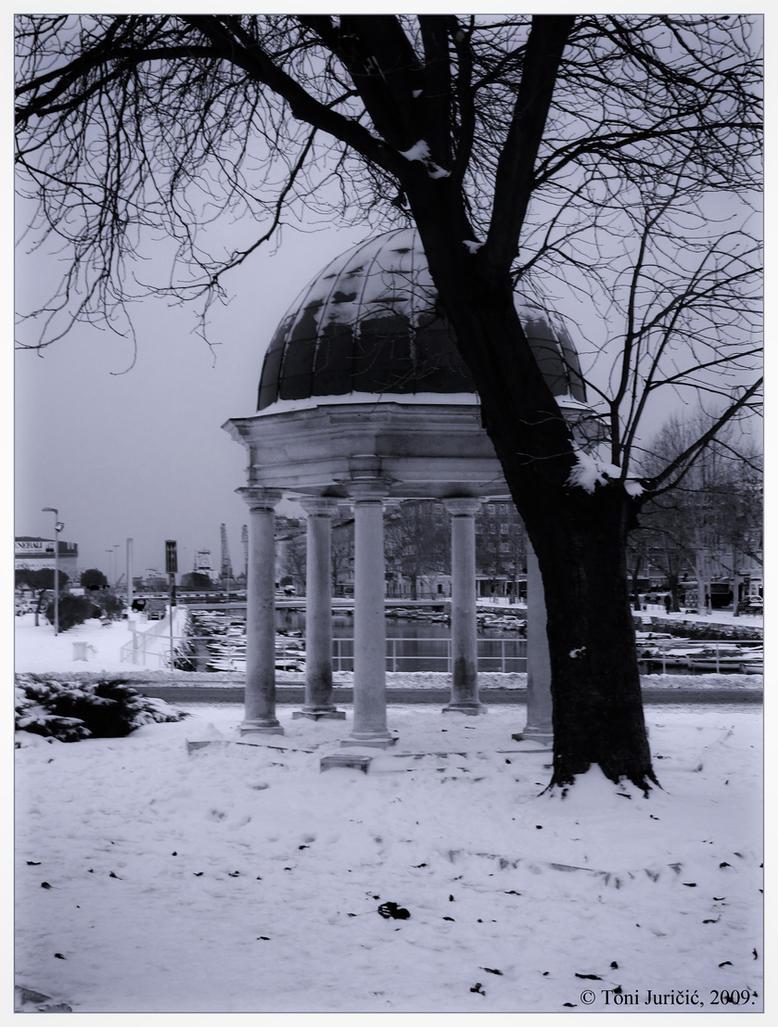 Greetings from snowy Rijeka I by sedativegod