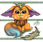 Gnar as Pixels by whomederarts