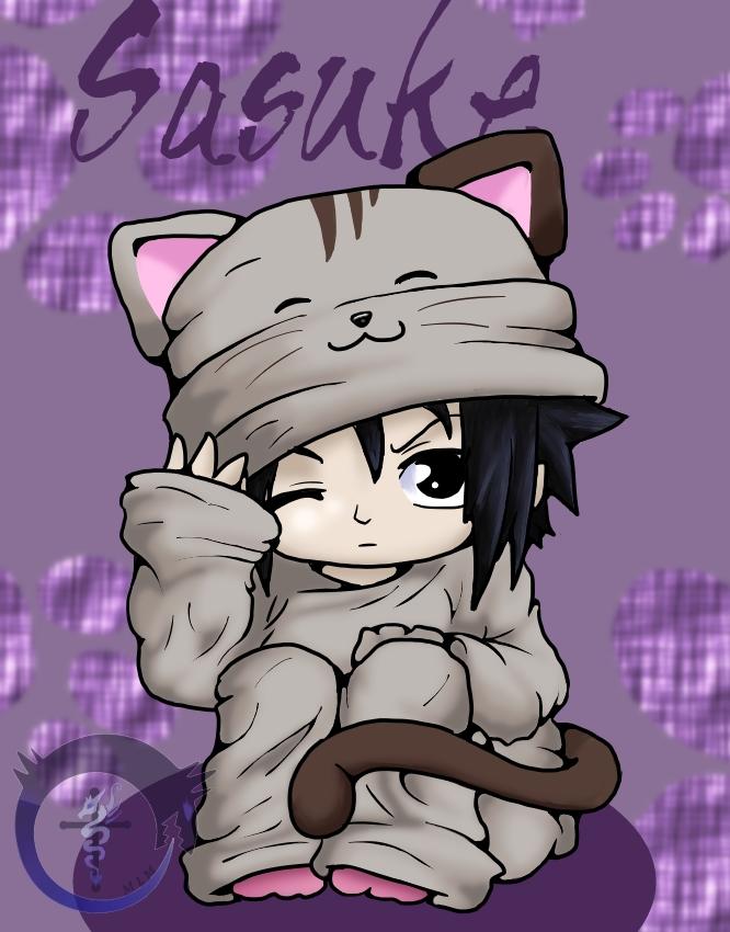 Sasuke Cat by magixkat on deviantART  Sasuke As A Cat
