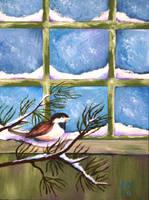 Snow Bird by magixkat