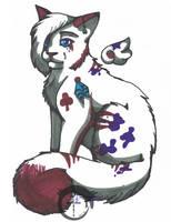 Sharpi Cat by magixkat