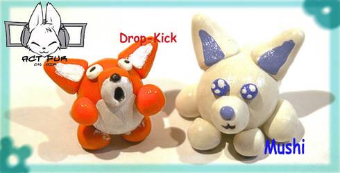 ACTfur Mascots by magixkat