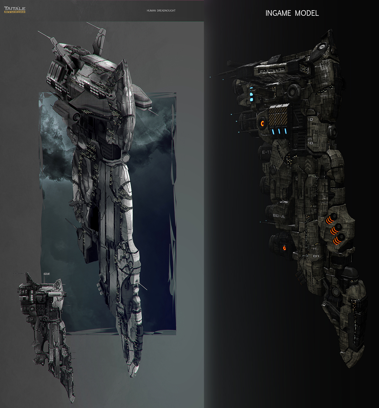 Novus Aeterno Human Dreadnought MkII by AdamBurn