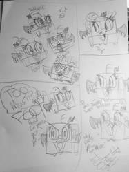 Fairly odd Foop doodles by PoofAngelFoopAndMe