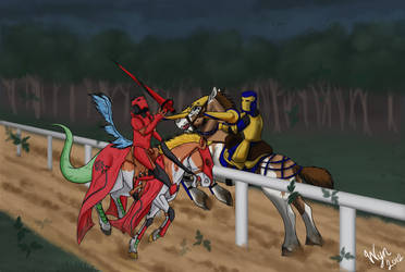 Of Crossed Lances by WynBird