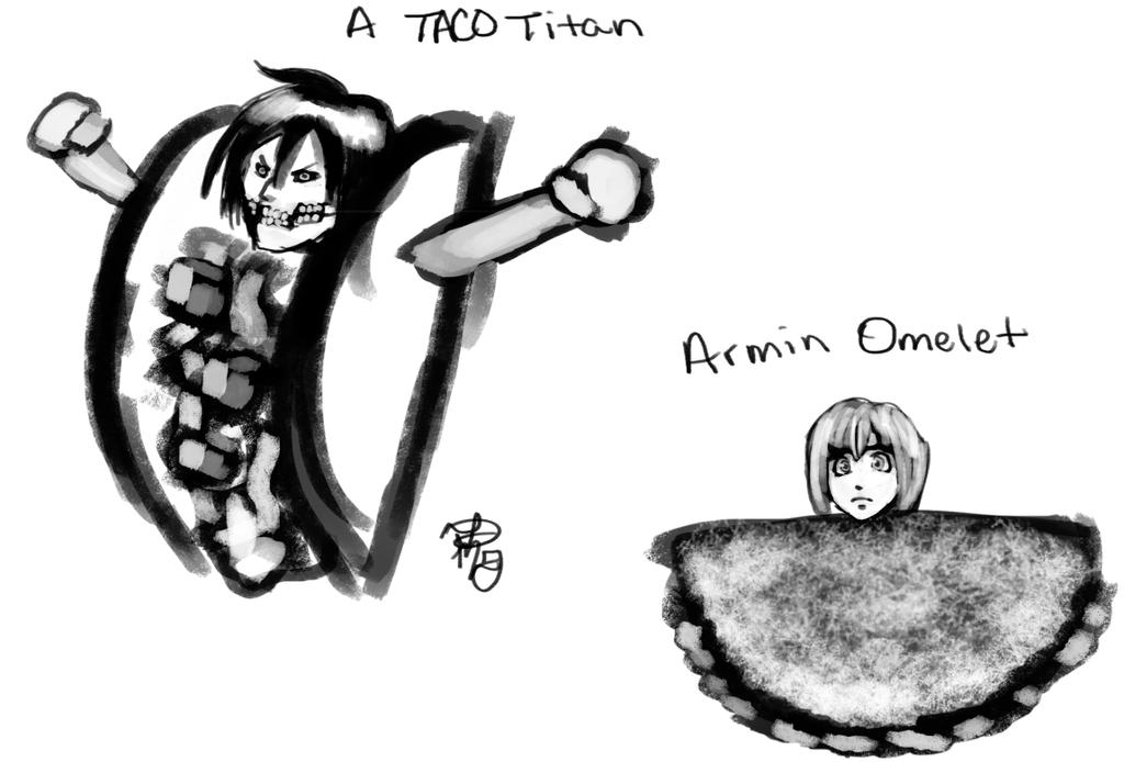 A Taco Titan by Dezby