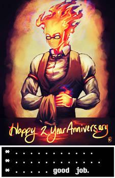 Happy 2 Year Anniversary Undertale!!