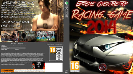EXTREME OVER-THE-TOP RACING GAME 2014 by EA GAMES by JMAAart