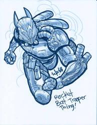 Bat-Type Trooper guy by NELZ