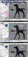 Black Horse Color Tutorial