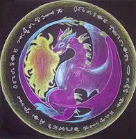 Dragon Mandalah by LilyAnneTorren