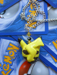 Sleeping Pikachu Necklace- For Sale