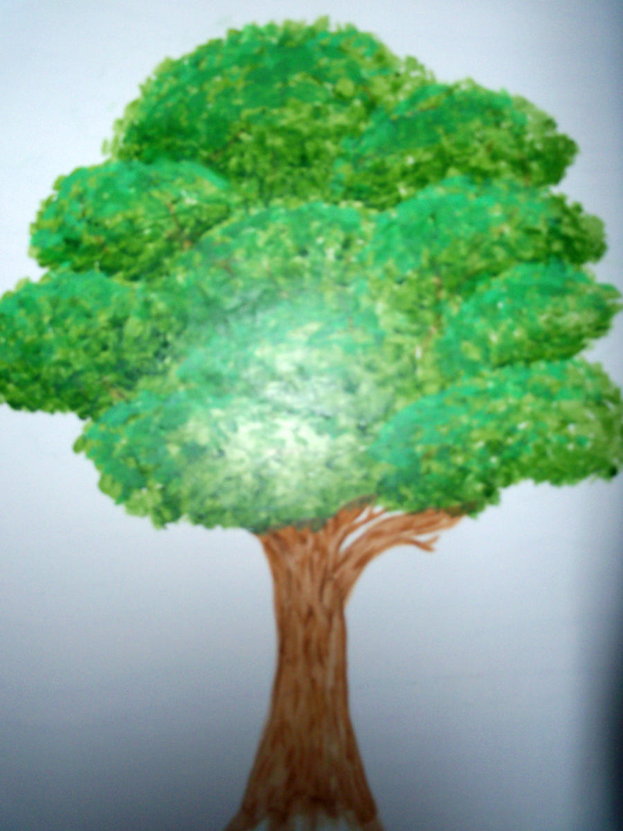 Tree Painting By Something Easy101