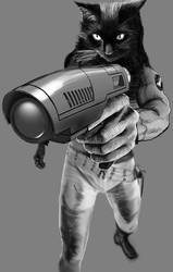RocketCatGun01fin by NyrathWiz