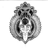 Cosmic Crown by Zwartmetaal