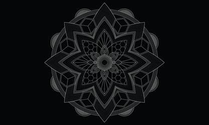 Vector mandala by Zwartmetaal