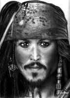 Captain Jack Sparrow by CountryMustangs
