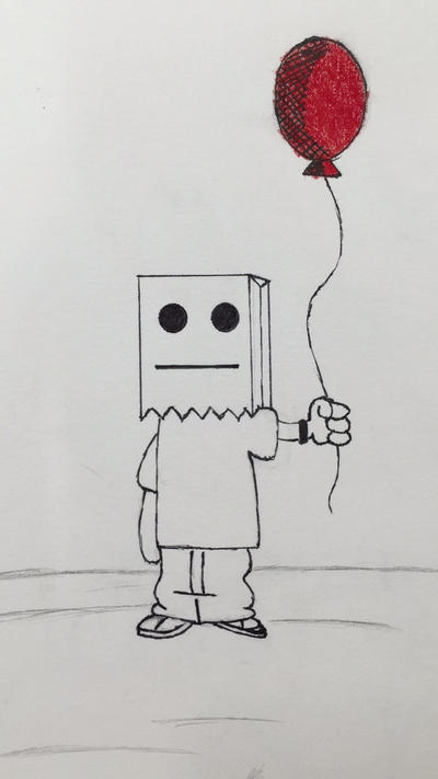 Paper Bag Boy by CallMeTippits