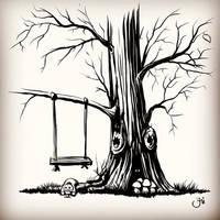 Where is Sally?!  Inktober 11 Cruel by Maxiator