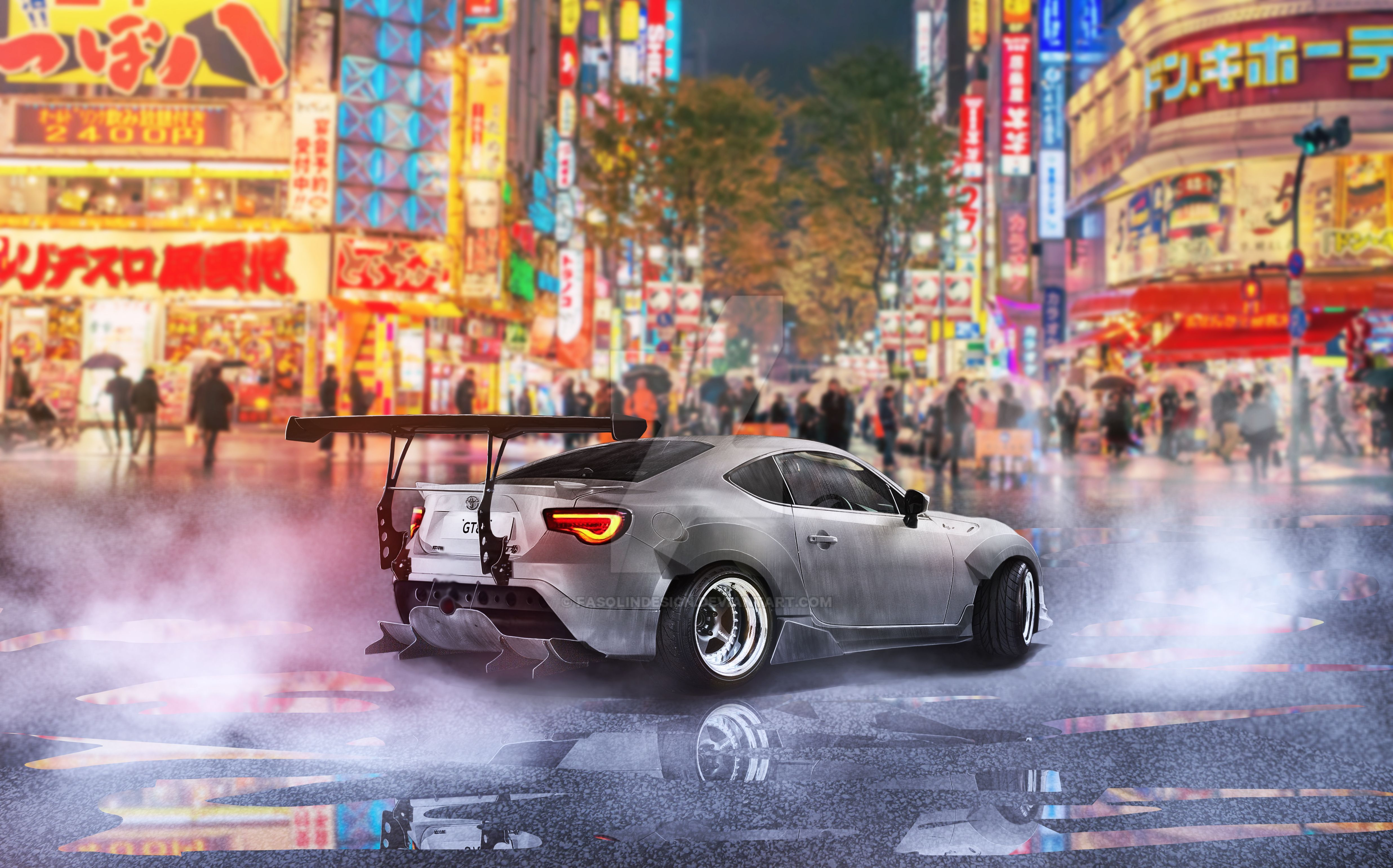 Toyota GT86 | Time Attack Rocket Bunny by fasolindesign on ...