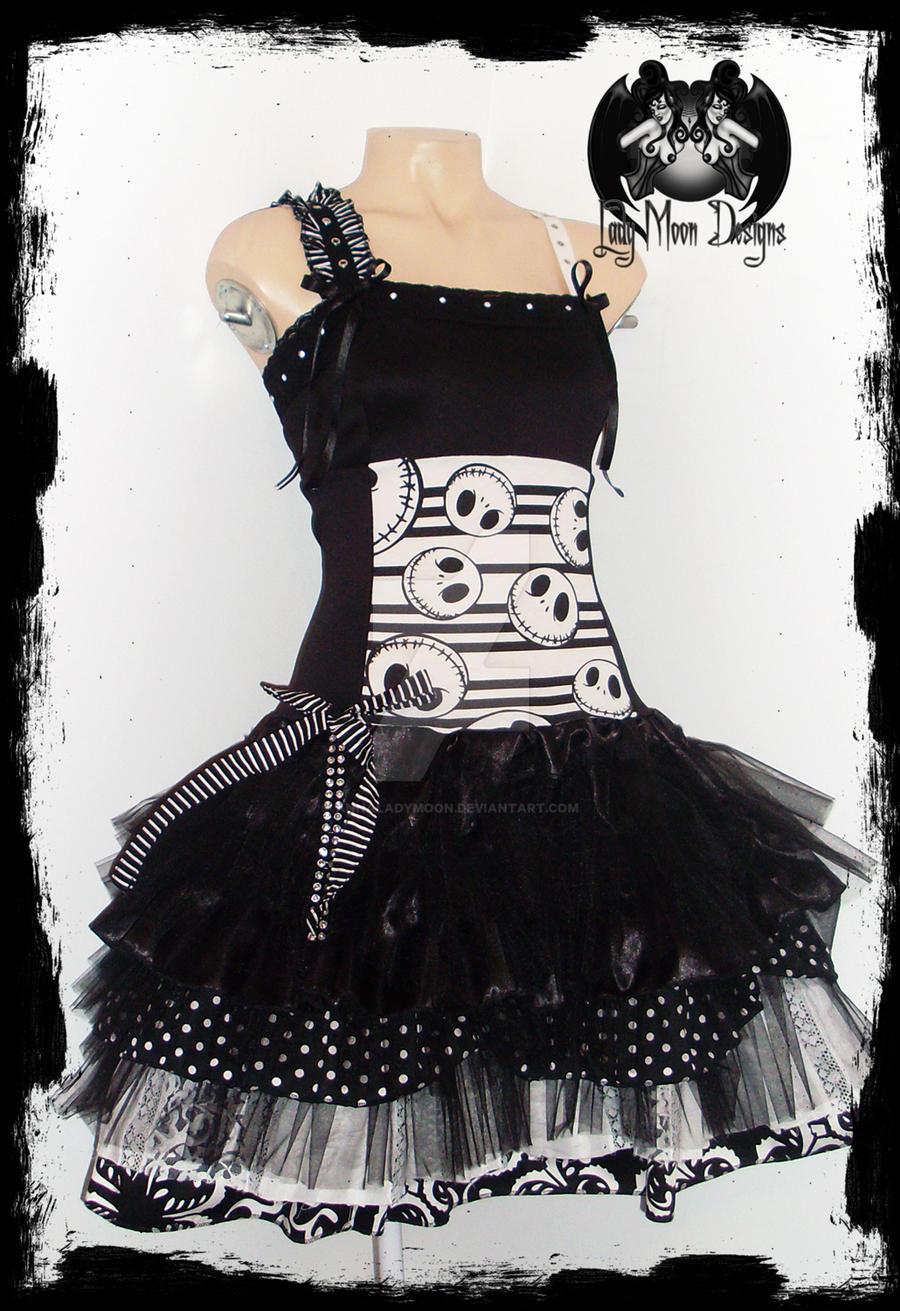 Jack Skellington Dress by annaladymoon