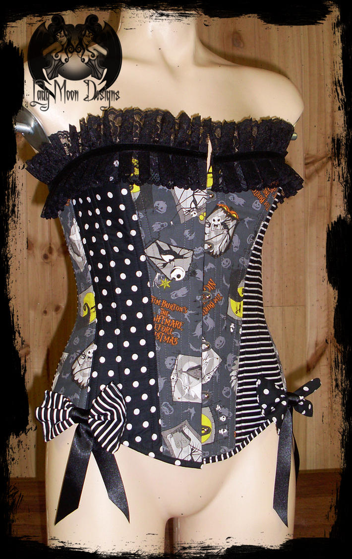 Nightmare Before Christmas Overbust Corset by annaladymoon on ...