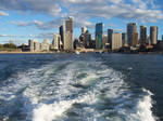 City from the Ferry Stock