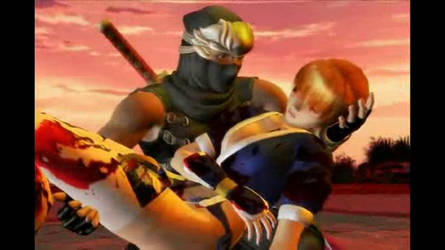 Ryu Hayabusa loves Kasumi by TheLinKueiNinja